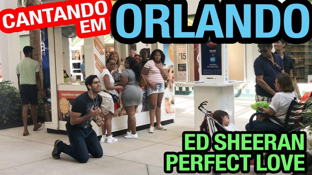 Cantando em ORLANDO - Ed Sheeran