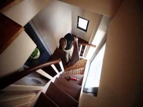 comment r nover un escalier youtube. Black Bedroom Furniture Sets. Home Design Ideas