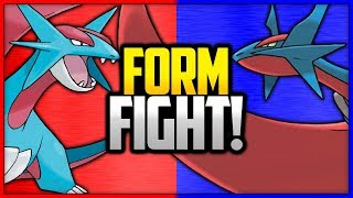Salamence vs Mega Salamence | Pokémon Form Fight
