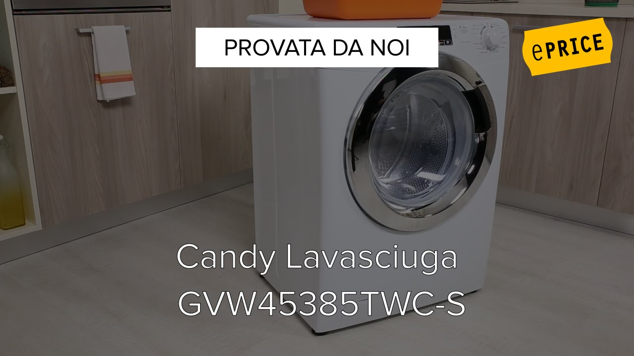 Video Recensione Lavasciuga Candy GVW45385TWC S