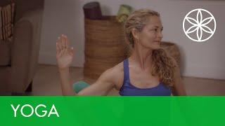 Flow Yoga for Beginners - Empowered Flow | Yoga | Gaiam