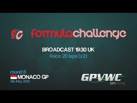 GPVWC 2015 - Formula Challenge R06 - Monaco GP