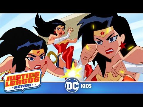 Justice League Action em Português  Mulher Maravilha Salva o Dia  DC Kids