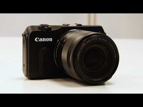 Canon EOS M Mirrorless Compact Camera First Look Preview - YouTube