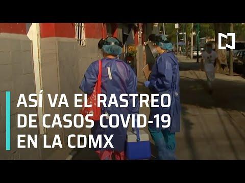 Seguimiento al rastreo de casos de Covid-19 en CDMX - En Punto