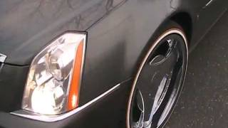 Cadillac Deville on 22' Custom Vogues Tires by THE TIRE SURGEON !!!