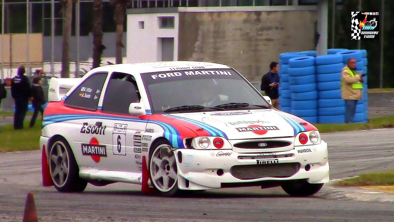 Ford Escort Rs Wrc 9º Cam Rally Festival (pure Sound) Hd
