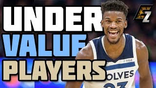 UNDERVALUE Players Fantasy Basketball 2018-2019