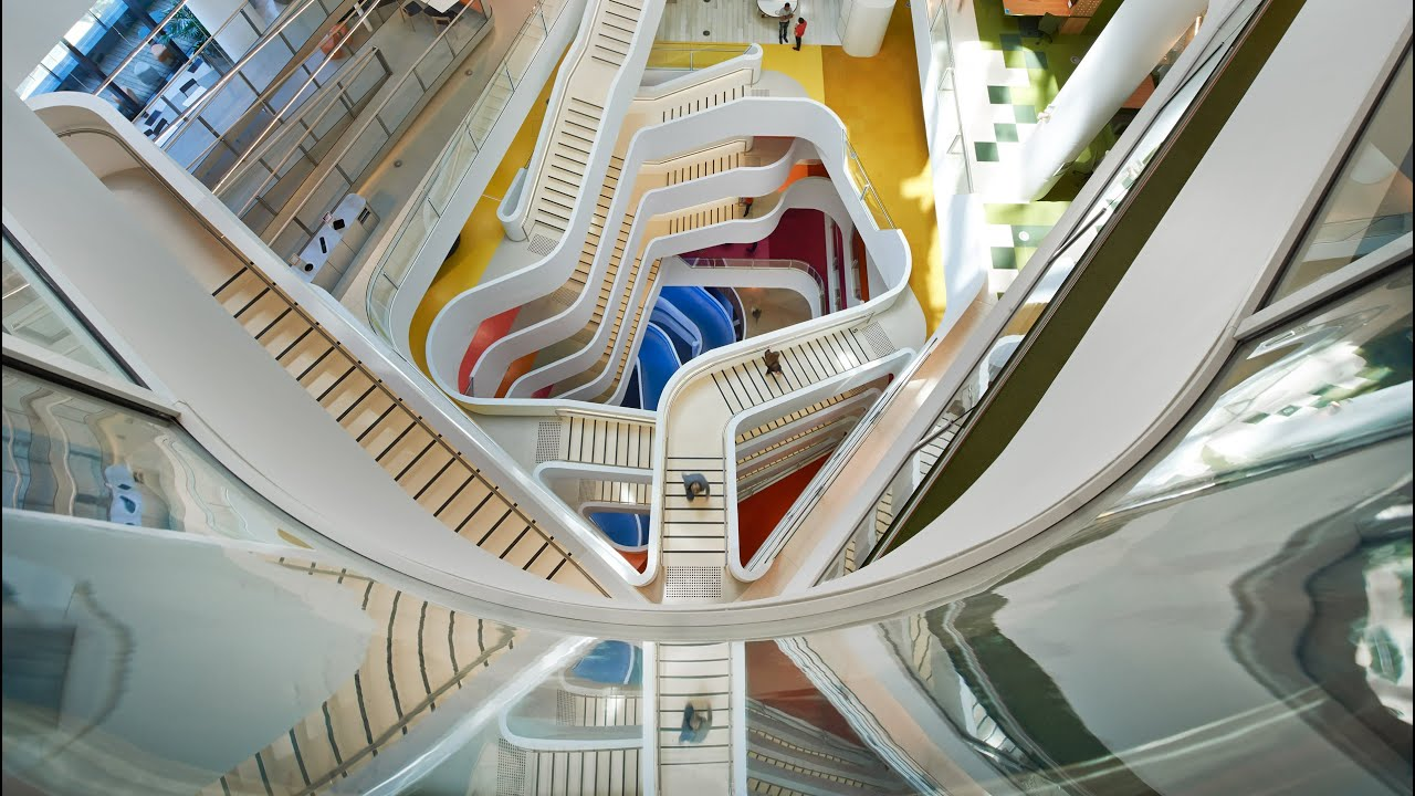 design of office building. hassellu0027s office building for medibank is designed to design of