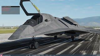 DCS - F/A 37 Talon - Casual flight
