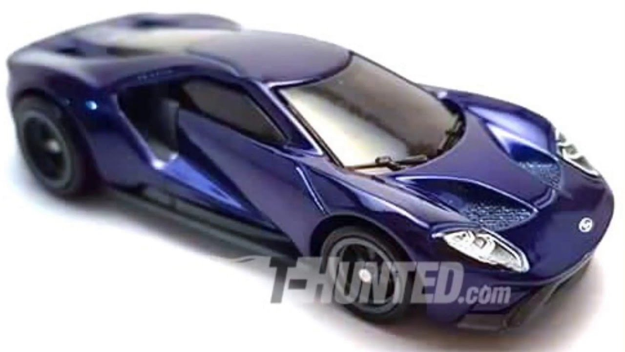 Super Treasure Hunt  Ford Gt Hotwheels