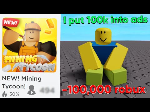 I Spent $100,000 Robux on Advertisements for this Roblox Game.. (Here's What Happened) thumbnail