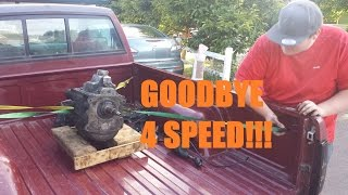5 speed swap   4x4 truck project   part 8