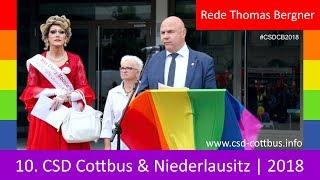 10. CSD Cottbus | 2018 - Demo - Rede Thomas Bergner