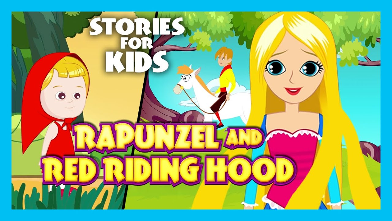 Witch And Rapunzel - The Fairy Tail |The Little Red Riding