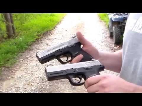 Smith & Wesson SD40VE vs SW40VE