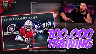 100,000 Training Opening 83+ Playoff Player Rolls [MADDEN 20 ULTIMATE TEAM]