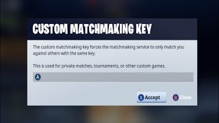 SOLO CUSTOM MATCHMAKING SCRIMS !Discord ONLY - Fortnite