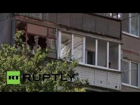 "Ukraine: Slavyansk ""a terrible mess"" after shelling by Kiev troops"