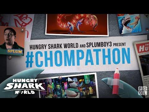 Hungry Shark World CHOMPATHON! New update!!
