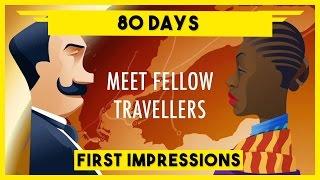 80 Days Gameplay PC - Circumnavigate The Globe In 80 Days - 80 Days Steam Version