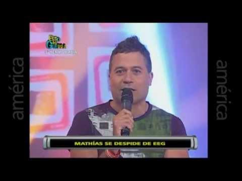 Esto es Guerra: Mathías Brivio se despide del programa - 29/04/2013