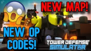 New Map Update in Tower Defense Simulator (New Map, 2 Units