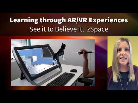 zSpace AR/VR -- Bible Center School Technology Vision 2020