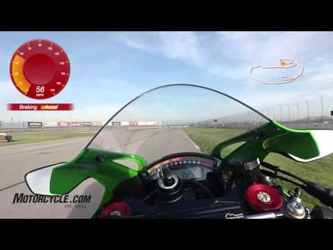 A Lap Of Auto Club Speedway Aboard The 2016 Kawasaki ZX-10R