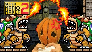 Angry Pumpkin Plays Mario