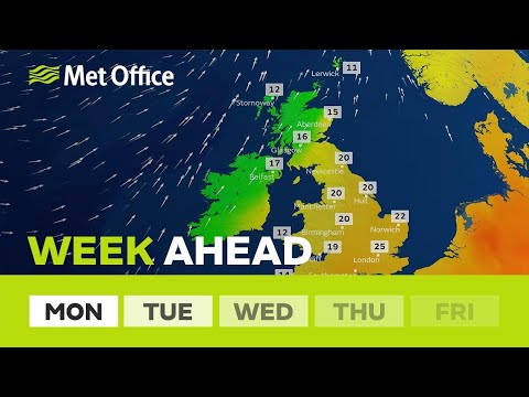 Week ahead – How warm will it get this week?