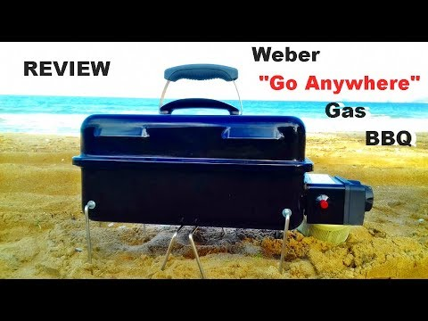 the weber go anywhere portable gas bbq how good is it youtube. Black Bedroom Furniture Sets. Home Design Ideas