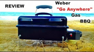 "The Weber ""Go Anywhere"" Portable Gas BBQ - HOW GOOD IS IT?"
