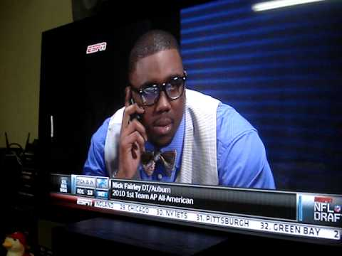 NFL 2011 DRAFT Pick 13 Lions  Nick Fairley,  DT 6'4 291 Auburn