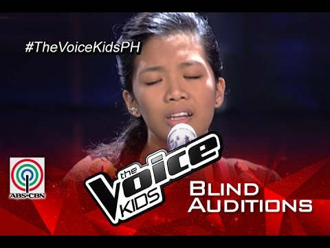 """The Voice Kids Philippines 2015 Blind Audition: """"Balay Ni Mayang"""" by Alexis"""