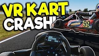 I FLIPPED MY GO-KART IN VR! - KartKraft VR Update Gameplay - Oculus VR Game