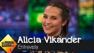 La virtud de Alicia Vikander para aprender idiomas - El Hormiguero 3.0