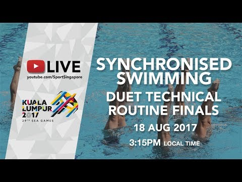 Synchronised Swimming Duet Technical Routine Finals | 29th SEA Games 2017