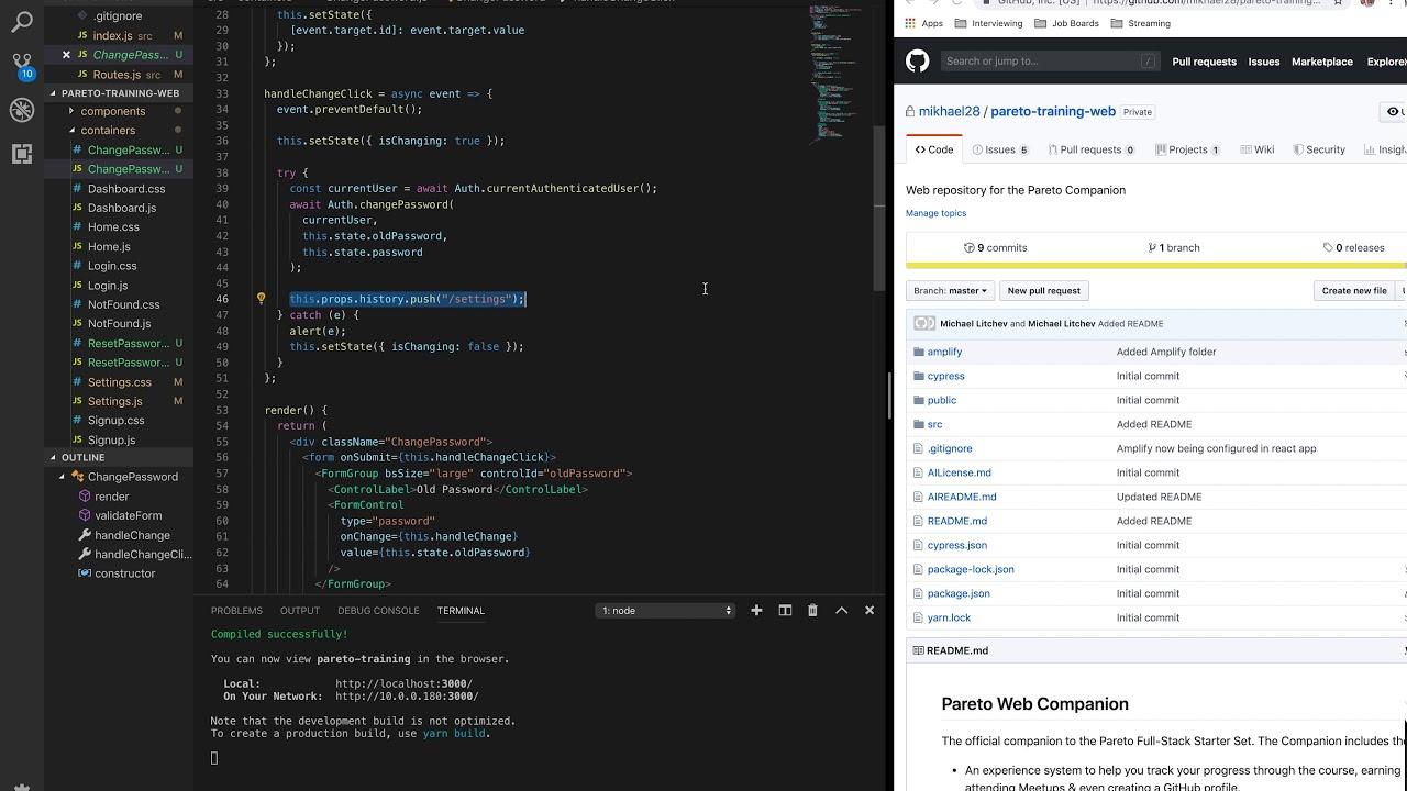React Js Login Project Github