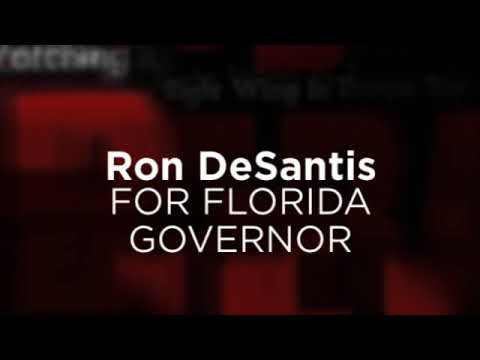 Ron DeSantis For Florida Governor