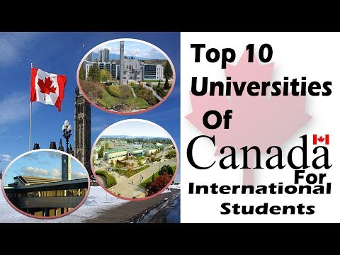 Best Universities In Canada For International Students 2019