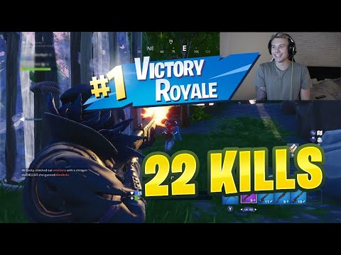 OUR BEST FORTNITE DUO'S EVER (22 KILLS) - FORTNITE BATTLE ROYALE