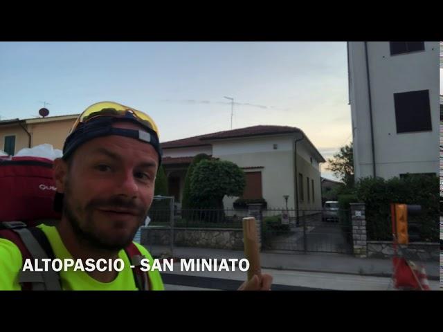 Via Francigena 2020 - 12 da Altopascio a San Miniato