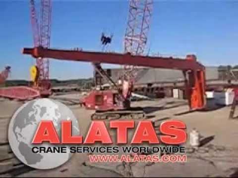 KGW crane slew ring renewal