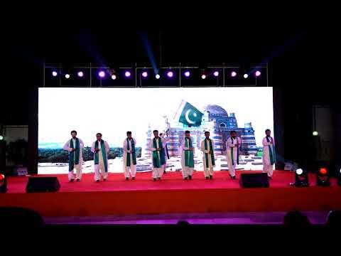 Pakistan Students Performance at International Culture Festival NWPU Xi'an China 2017