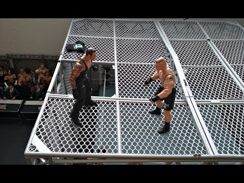 Hell in a Cell: Brock Lesnar vs The Undertaker (StopMotion)