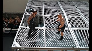 vuclip Hell in a Cell: Brock Lesnar vs The Undertaker (StopMotion)