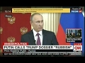 'Laughable' CNN React to Putin 'Worse Than Prostitute' Trump Fake Allegation News