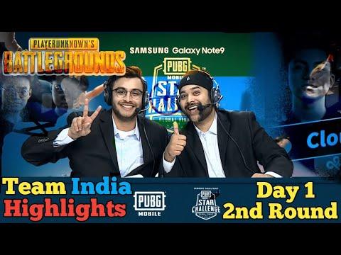 Pubg Mobile Star Challenge Dubai Match Highlight 2nd Round Day 1✔️Team India Vs RRQ Vs Evos Vs CPT