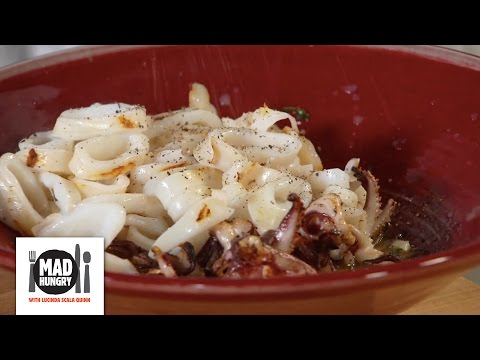 Quick Simple Grilled Calamari Appetizer - Mad Hungry With Lucinda Scala Quinn